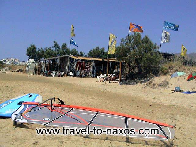 AGIOS GEORGIOS BEACH - In Agios Georgios beach you can rent equipment for all the sea spotrs.
