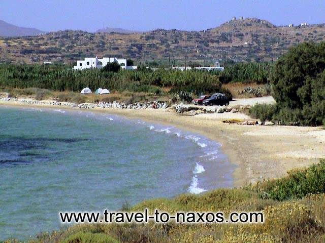 KARADES - Karades beach lies next to Mikri Vigla.