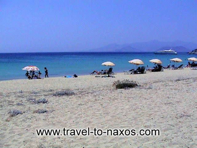 AGIOS PROKOPIOS BEACH - Enjoy the infinite light blue of Aegean Sea.