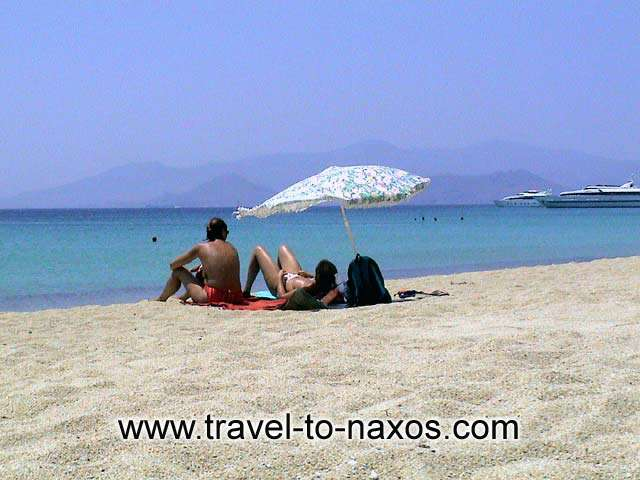 Agios Prokopios is considered one of the best beaches of Naxos. NAXOS PHOTO GALLERY - AGIOS PROKOPIOS BEACH