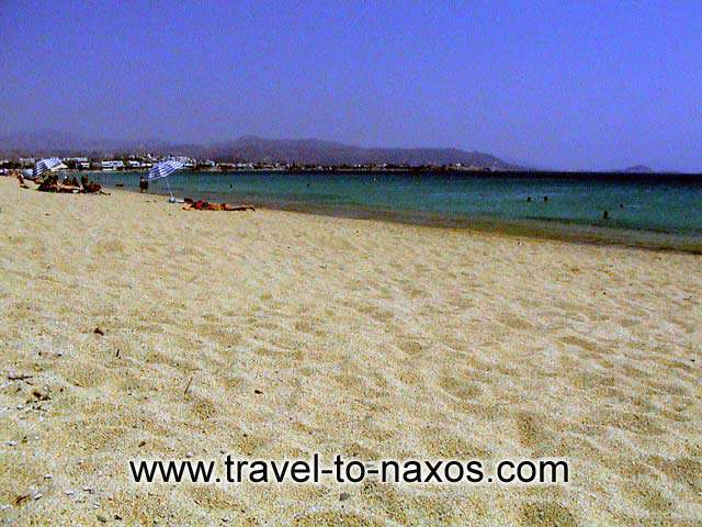 AGIOS PROKOPIOS BEACH - Beautiful sand and clean waters.