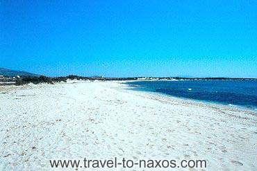 ALYKO BEACH - The beautiful white sandy beach of Alyko.