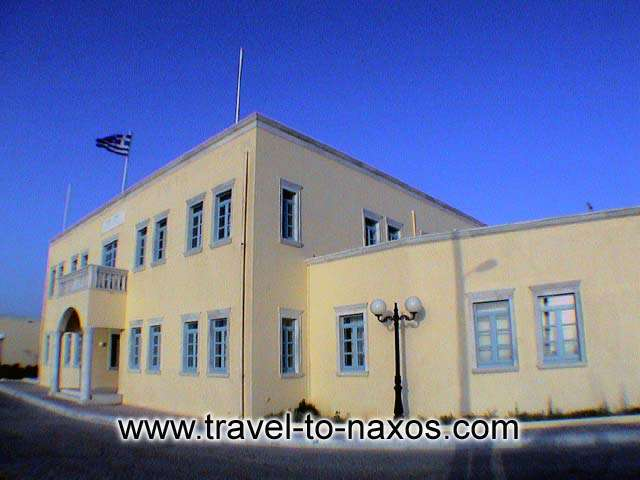 TOWN HALL - The Town hall of Naxos.