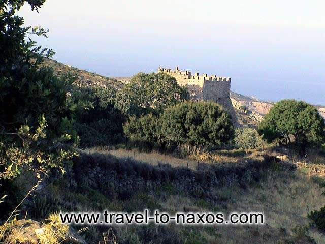 DANAKOS - Moni Fotodoti Christ is built in a dense vegetation area.
