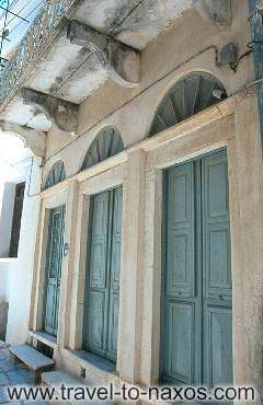 CHALKI - A traditional architecture building at Chalki village.