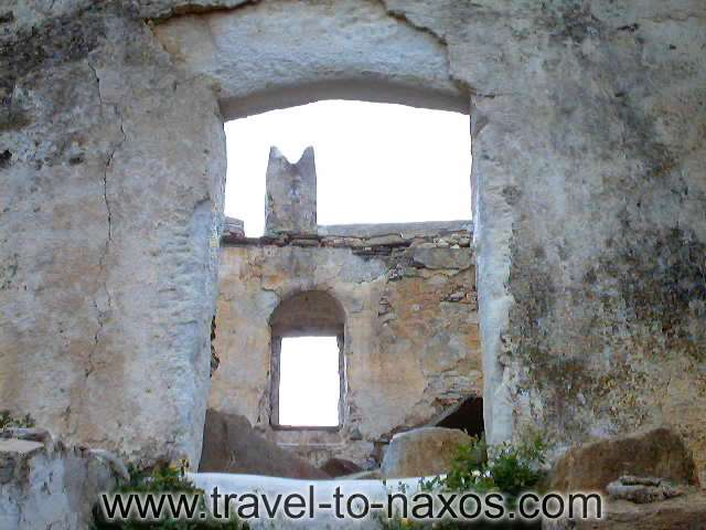 ABRAMI CASTLE - A part of the interior of Agias Tower.