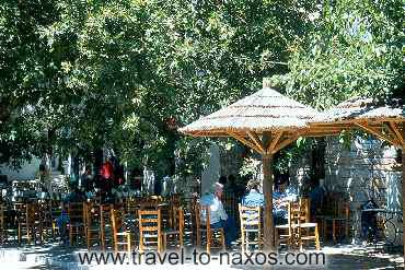FILOTI - Drink a coffee to the traditional Greek cafenio which is on the square.