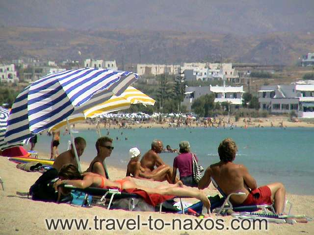 AGIOS PROKOPIOS BEACH - Agios Prokopios is one of the busier beaches of Naxos.