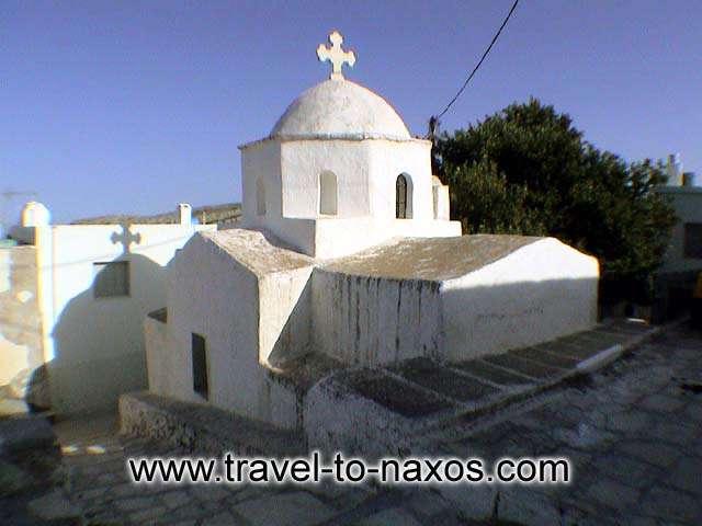 AGIA PARASKEVI - Agia Paraskevi church in Apeiranthos village.