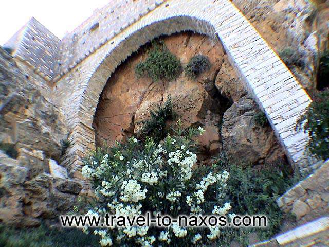 APIRANTHOS - A detail from an old building.