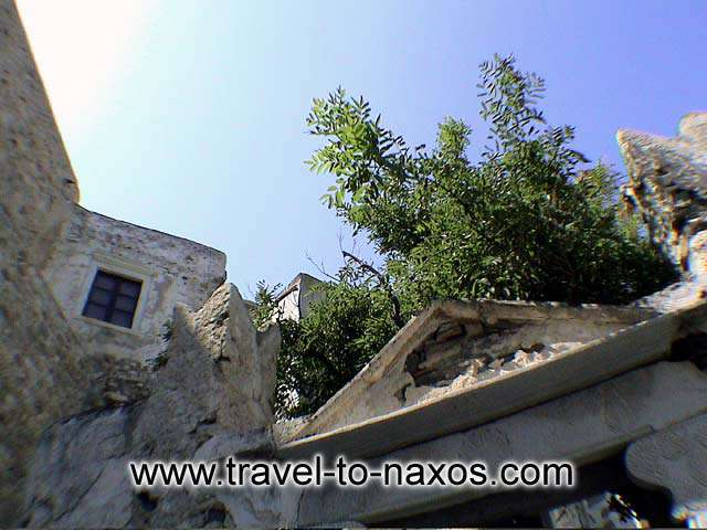 KASTRO - A spot in Naxos castle.