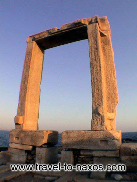 PORTARA - Portara, the most famous photograph from Naxos.