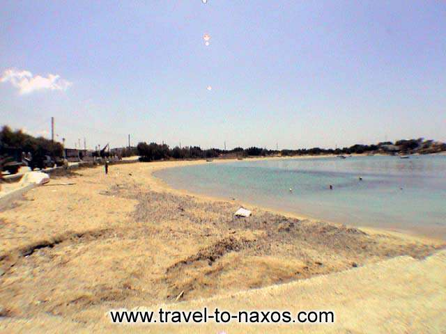 THE BEACH - The south part of the beach towards Plaka