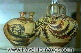 ARCHAELOGICAL MUSEUM - At the archaeological museum of Naxos, you'll see an important collection of archaic vases.