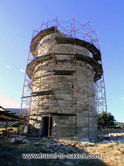 CHIMAROS TOWER - The tower is preserved in good situation.