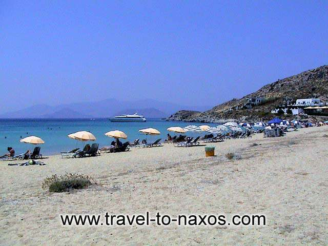 AGIOS PROKOPIOS BEACH - Agios Prokopios is an organized beach which attracts many tourists.