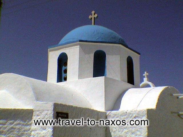AGIOS IOANNIS - Agios Ioannis (Saint John) church in Naxos Chora.