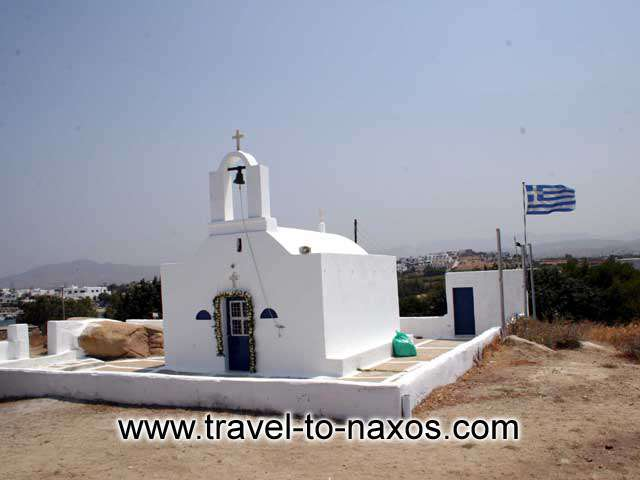 AGIOS NIKOLAOS CHURCH - The church of Agios Nikolaos lies between Agia Anna and Plaka beach in the midle of a small forest