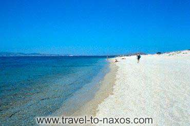 PLAKA BEACH - The long sandy beach of Rlaka.