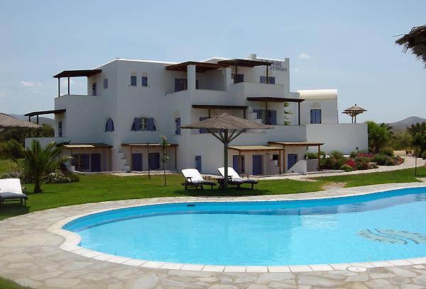 AMMOS HOTEL IN  Alyki, Chora Naxos