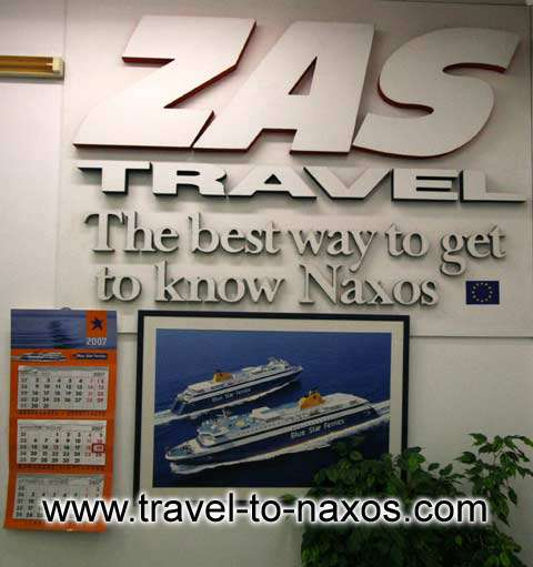 ZAS TRAVEL IN  Chora, Naxos island, Cyclades