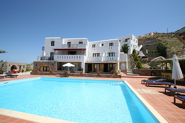 PARADISIA VILLAS IN  Chora Naxos, Cyclades