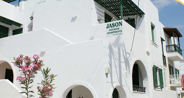 JASON STUDIOS APARTMENTS IN  Chora Naxos, Cyclades islands