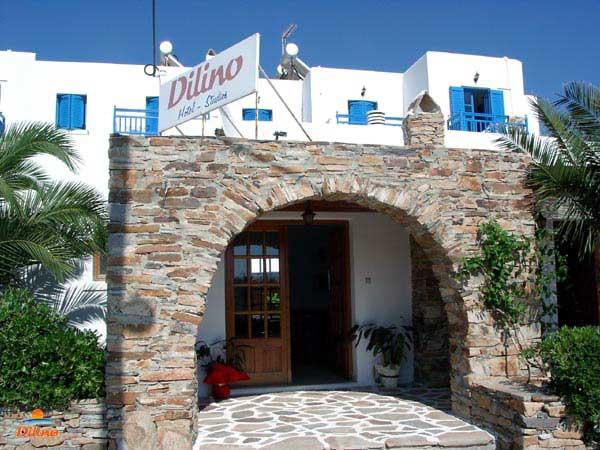 DILINO HOTEL IN  Agios Prokopios Naxos Cyclades islands