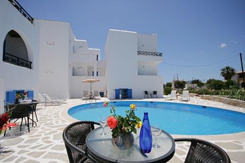 SUNNY BEACH STUDIOS IN  Agios Georgios - Naxos Town