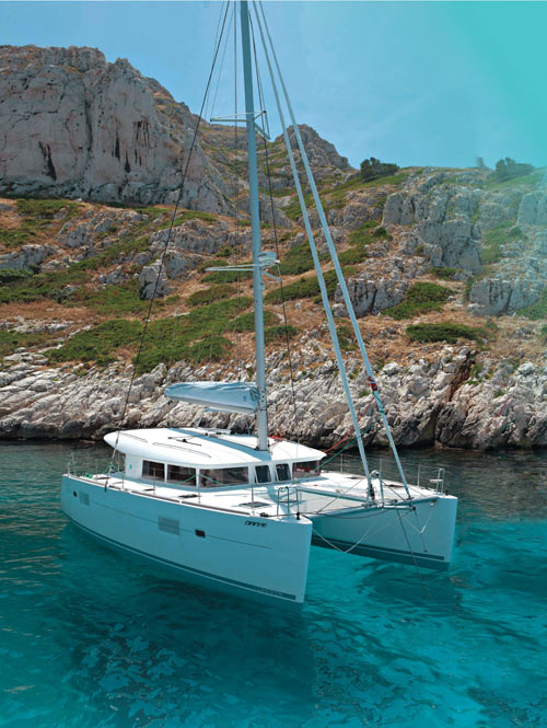 NAXOS YACHTING  CATAMARAN SAILING TOURS IN  Naxos Marina (Town)