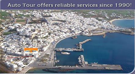AUTO TOUR NAXOS IN  Chora Naxos