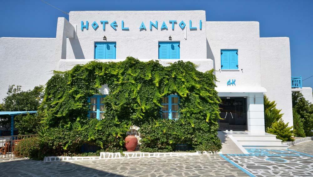 ANATOLI HOTEL IN  CHORA NAXOS