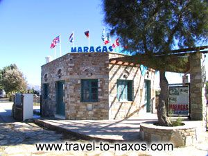 MARAGAS CAMPING IN  AGIA ANNA