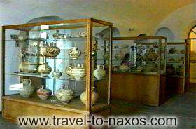 ARCHAELOGICAL MUSEUM OF NAXOS