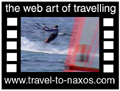 Travel to Naxos Video Gallery  - Surfing... - Surfing at Mikri Vigla beach.  -  A video with duration 57 sec and a size of 733 kb