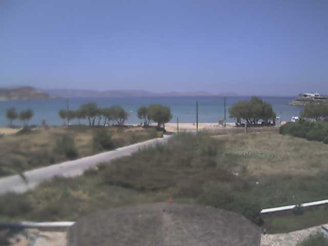 Naxos Saint George Beach webcam